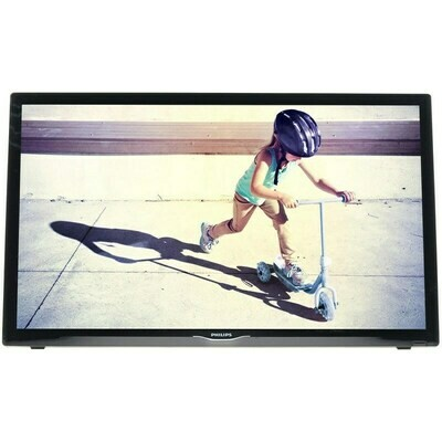 "Телевизор Philips 24PHS4022 23.6"" (2017), черный"