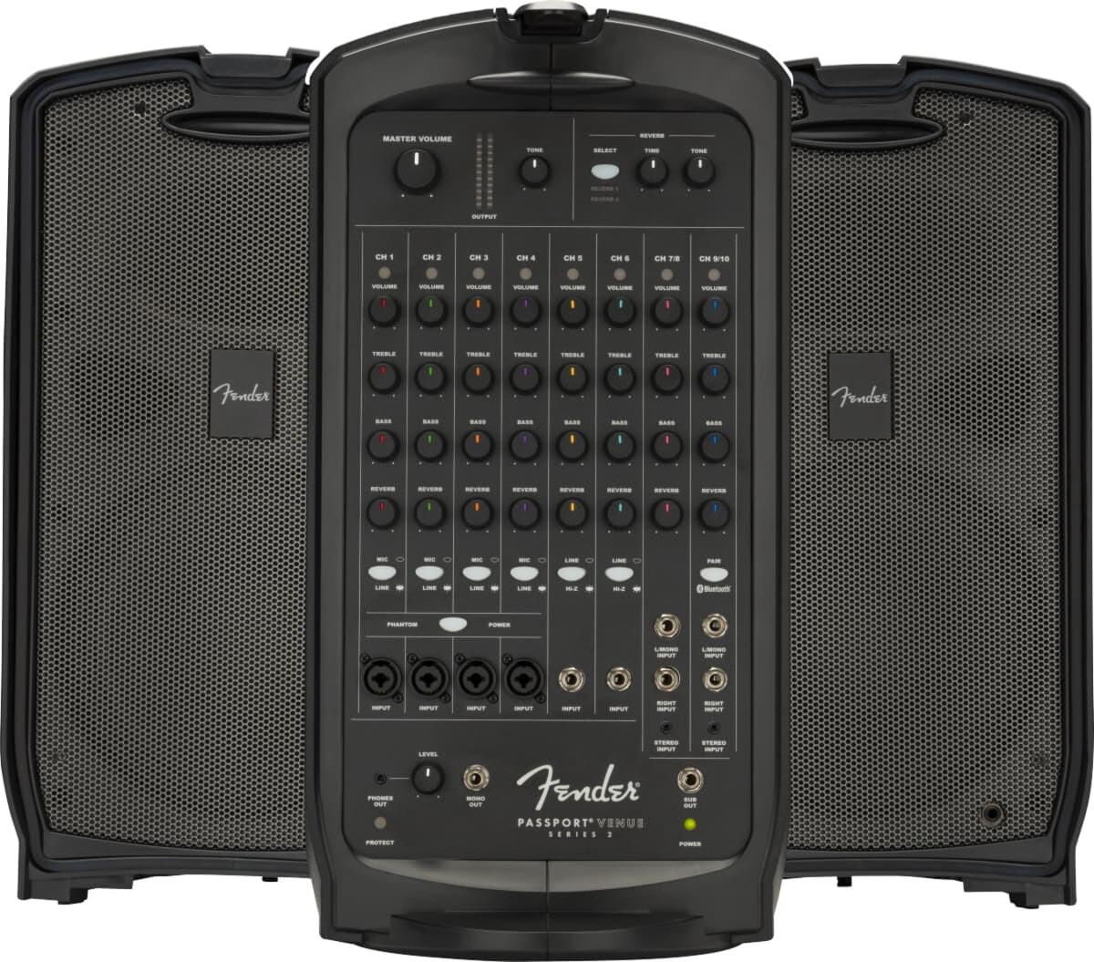 Fender Passport Venue Series 2 Black 230V EU Активная переносная акустическая система