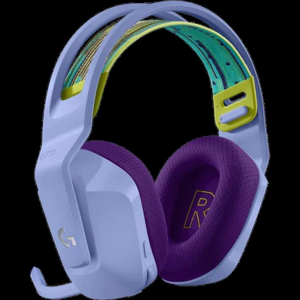 Компьютерная гарнитура Logitech G G733 LightSpeed lilac