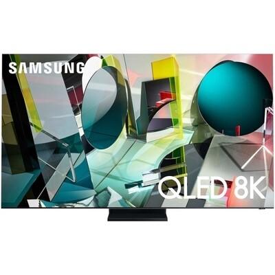"""Телевизор QLED Samsung QE75Q950TSU 75"""" (2020), нержавеющая сталь"""
