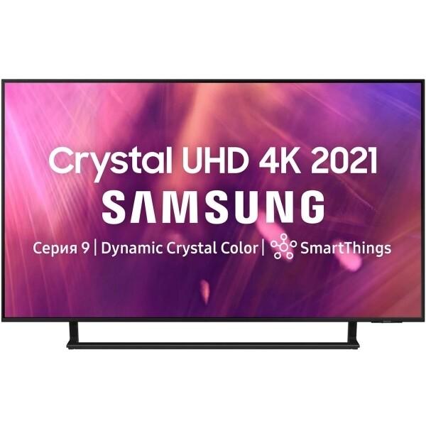 "Телевизор Samsung UE50AU9070U 50"" (2021), серый титан"