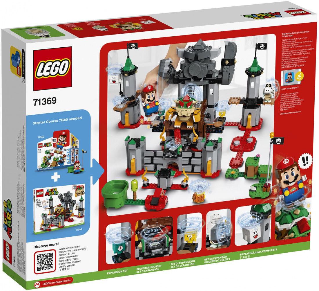 Конструктор LEGO Super Mario 71369 Дополнительный набор Решающая битва в замке Боузера