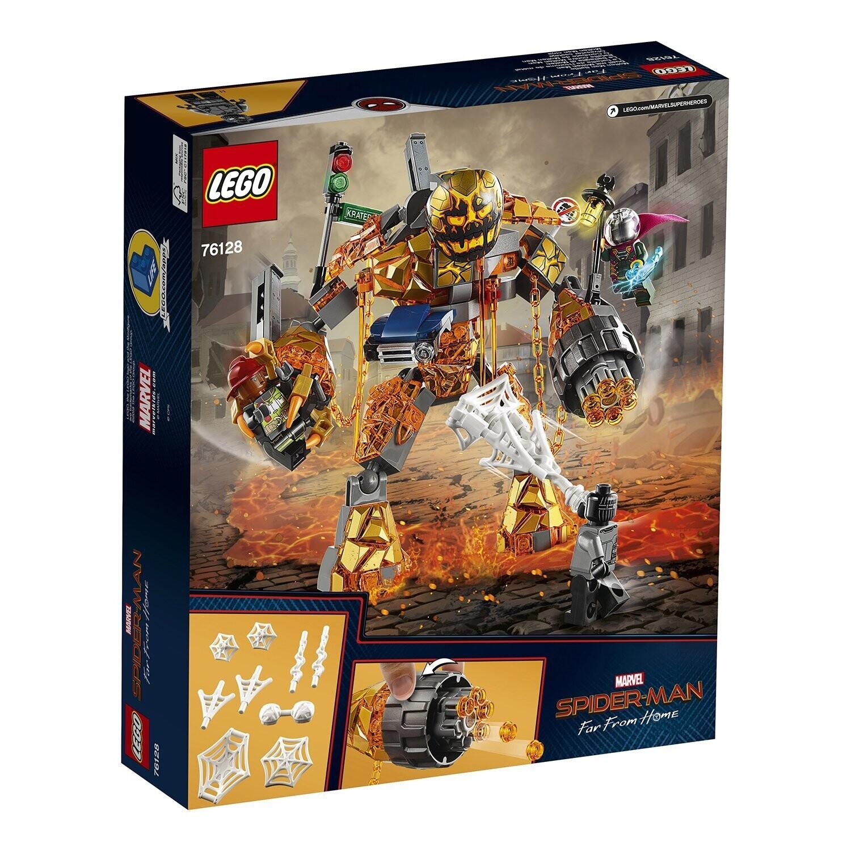 Конструктор LEGO Marvel Super Heroes 76128 Spiderman Бой с Расплавленным Человеком