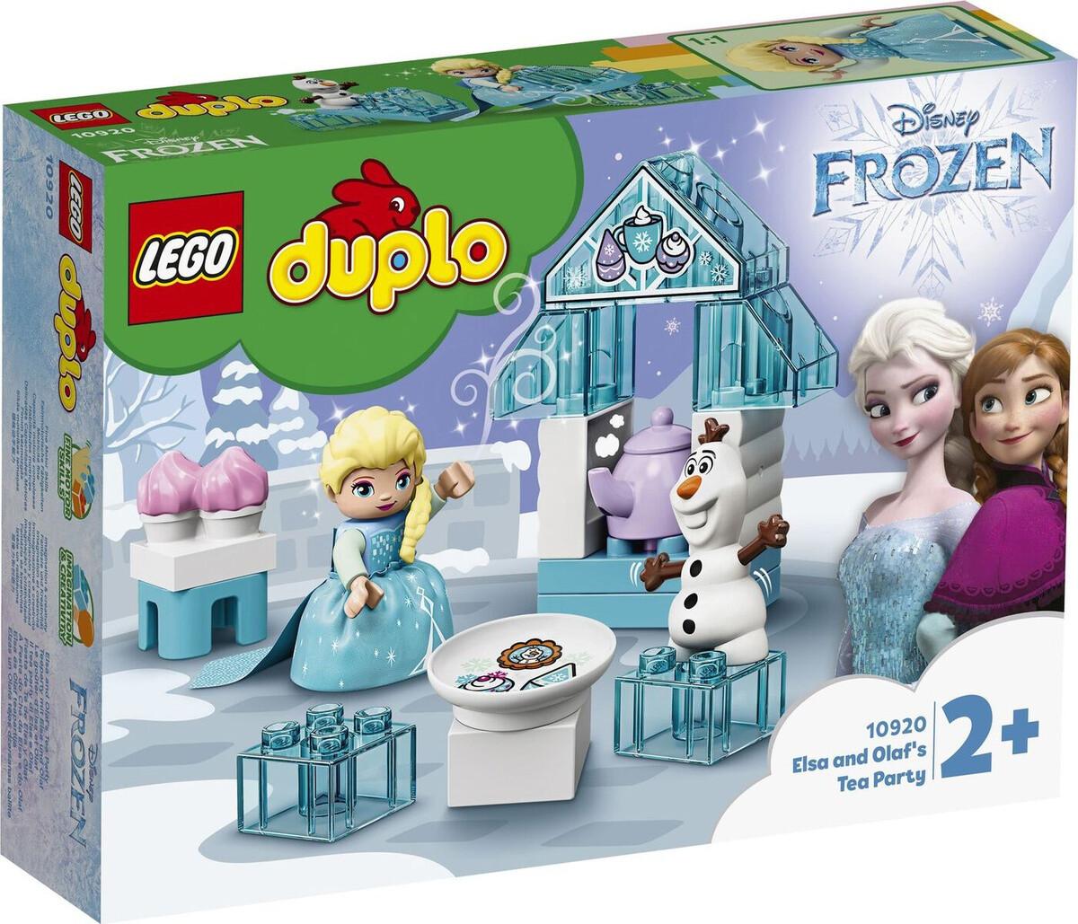 Конструктор LEGO DUPLO Disney Frozen 10920 Чаепитие у Эльзы и Олафа