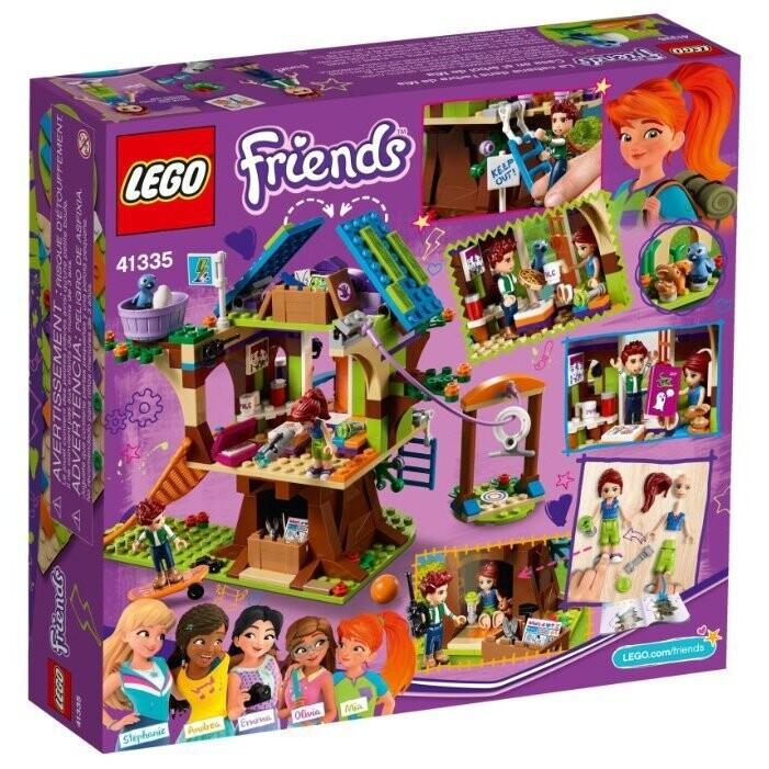 Конструктор LEGO Friends 41335 Домик на дереве Мии