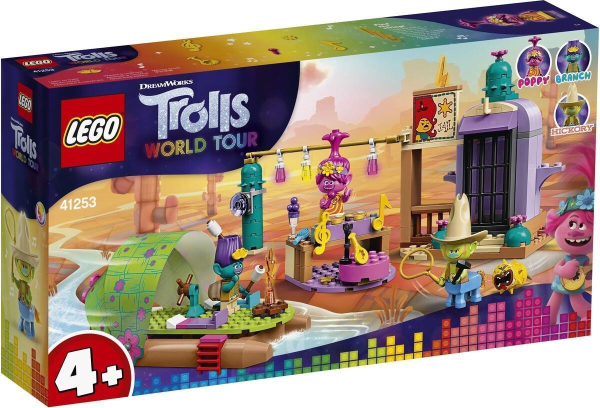 Конструктор LEGO Trolls World Tour 41253 Приключение на плоту в Кантри-тауне