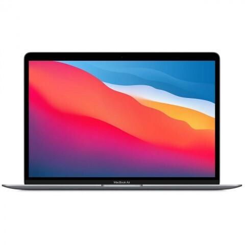 "Ноутбук Apple MacBook Air 13 Late 2020 (Apple M1/13.3""/2560x1600/8GB/512GB SSD/DVD нет/Apple graphics 8-core/Wi-Fi/Bluetooth/macOS) MGN73RU/A, серый космос"
