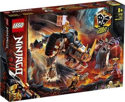 Конструктор LEGO Ninjago 71719 Бронированный носорог Зейна