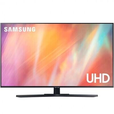 "Телевизор Samsung UE50AU7570U 50"" (2021), titan gray"