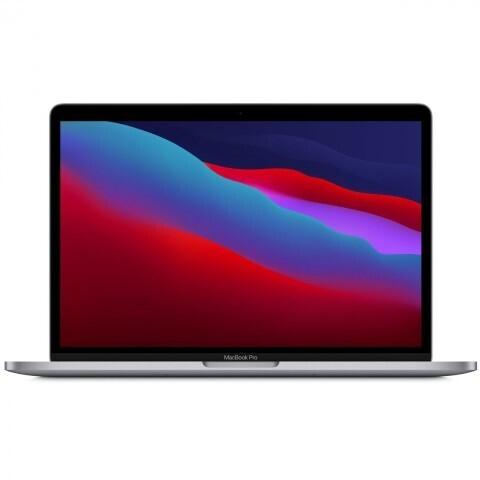 "Ноутбук Apple MacBook Pro 13 Late 2020 (Apple M1/13""/2560x1600/8GB/512GB SSD/DVD нет/Apple graphics 8-core/Wi-Fi/Bluetooth/macOS) MYD92RU/A, серый космос"