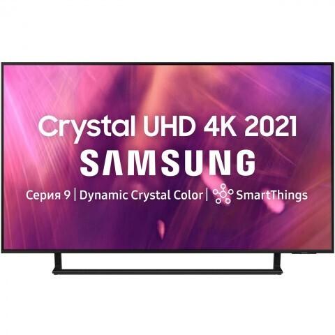 "Телевизор Samsung UE55AU9070U 55"" (2021), серый титан"