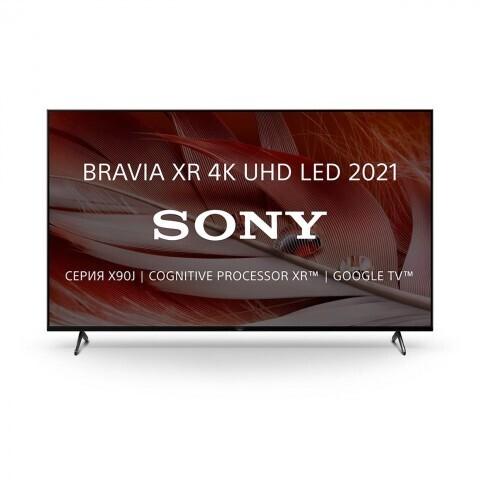 """Телевизор Sony XR-75X90J 75"""", черный"""