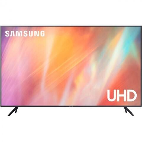 "Телевизор Samsung UE65AU7170U 64.5"" (2021), серый титан"