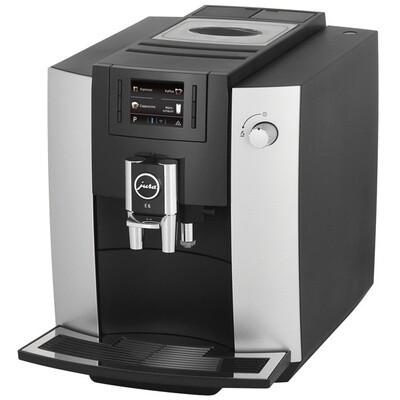 Кофемашина Jura E6 (EB), platin
