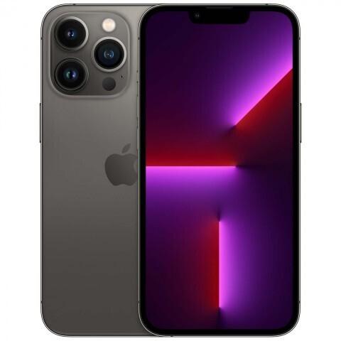 Смартфон Apple iPhone 13 Pro 128 ГБ, графитовый