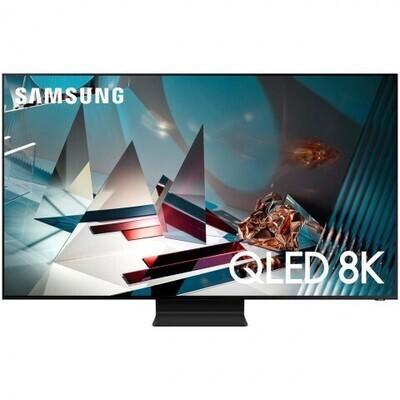"""Телевизор QLED Samsung QE75Q800TAU 75"""" (2020), черный титан"""