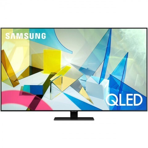 """Телевизор QLED Samsung QE85Q87TAU 85"""" (2020), черненое серебро"""
