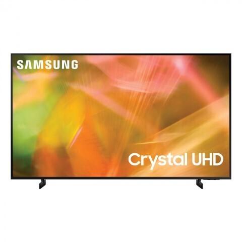 """Телевизор Samsung UE55AU8000U 54.6"""" (2021), черный"""