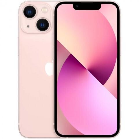 Смартфон Apple iPhone 13 mini 128 ГБ, розовый