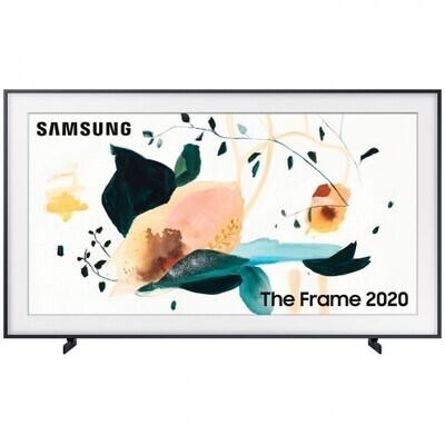 """Телевизор QLED Samsung The Frame QE75LS03TAU 75"""" (2020), черный уголь"""
