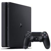Игровая приставка Sony PlayStation 4 Slim 500 ГБ, черный