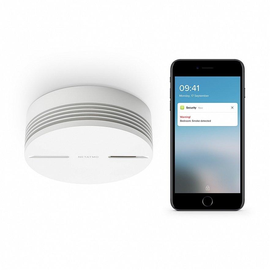 Датчик дыма Netatmo Smart Smoke Alarm
