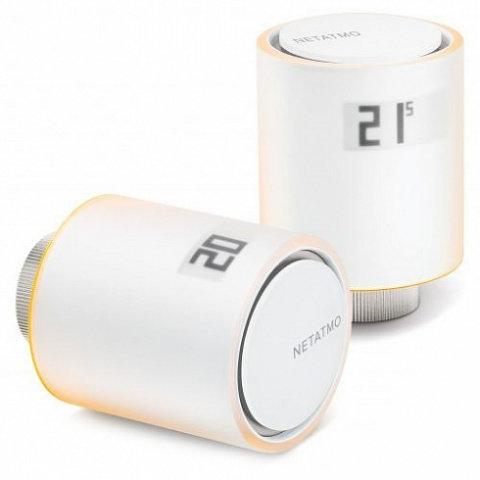 Умные радиаторные клапаны Netatmo Smart Radiator Valves