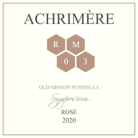 Achrimère Symposium Rosé 2020  (case of 12 bottles)