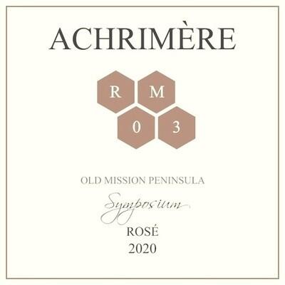 Achrimère Symposium Rosé 2020 PRE-ORDER  (case of 12 bottles)