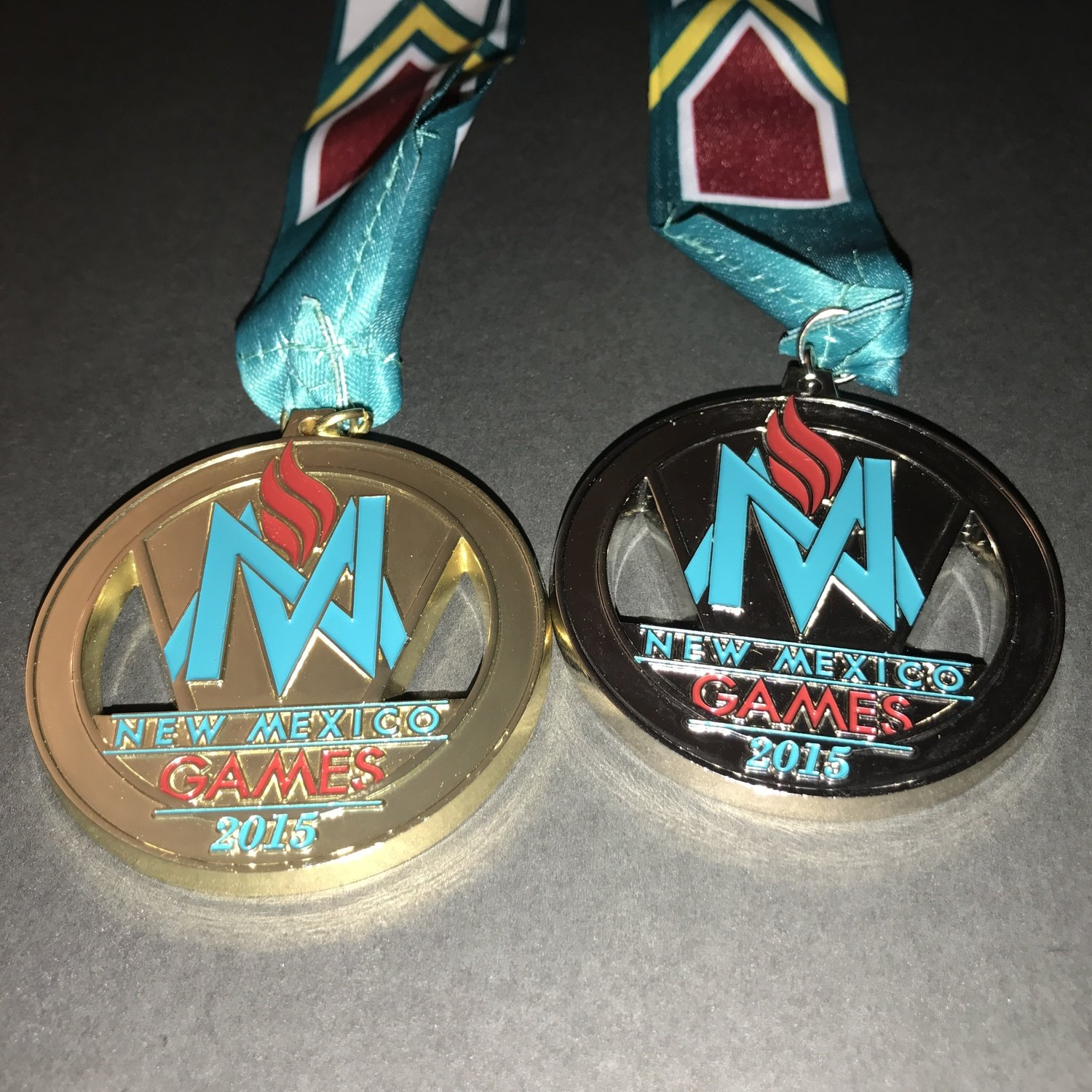 2015 New Mexico Games Medal