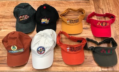 New Mexico Games Variety Hats & Visors $15 each