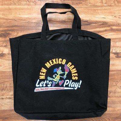 Retro New Mexico Games Zip Bag