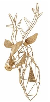 Tête de Reine Or / Gold Reindeer Head