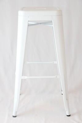 Tabouret Tolix Blanc / White Tolix Stool