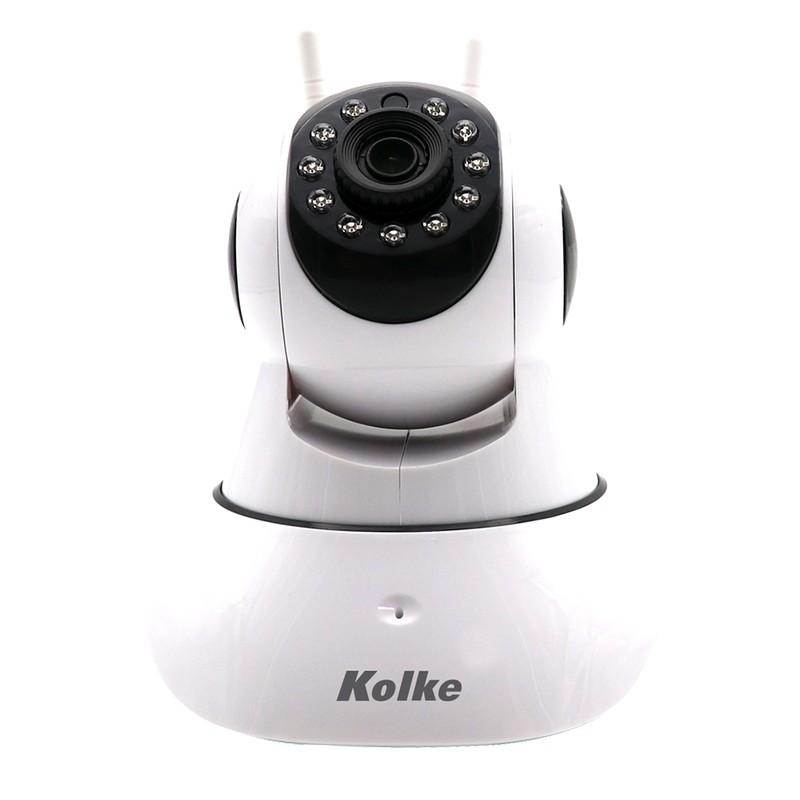 Câmera Ip Kolke Wireless Visão Noturna Controle Via Internet 2.0MP FULL HD KUC293