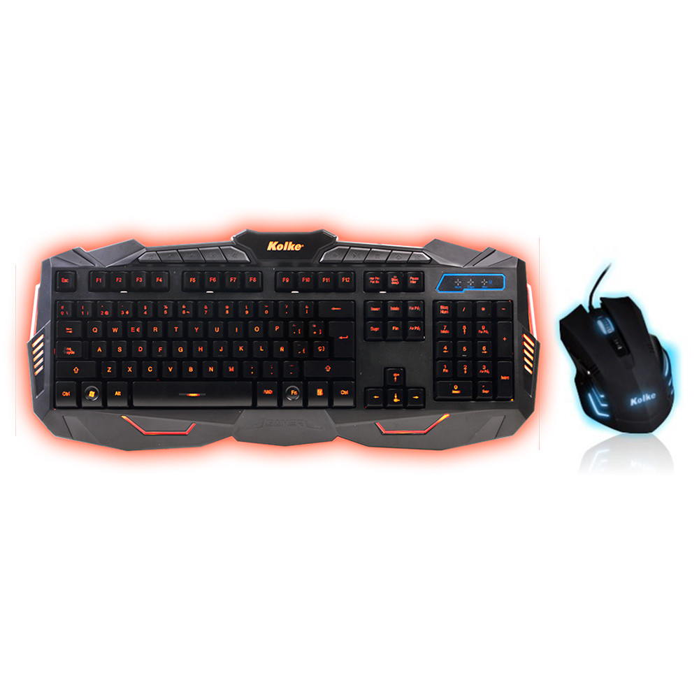 Kit  Teclado e Mouse Kolke  GAMER POWER PRO KTMIG-531