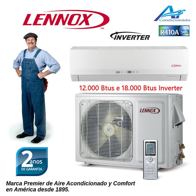 Ar Condicionado Lennox Americano 18.000 Btus Inverter quente e frio