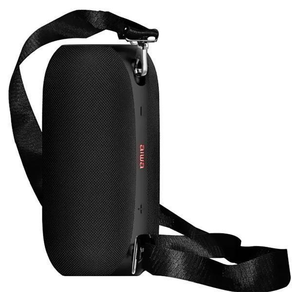 Speaker Aiwa AW700 com Bluetooth/USB/Mini Jack 3.5mm Bateria 4.400 mAh - Preto