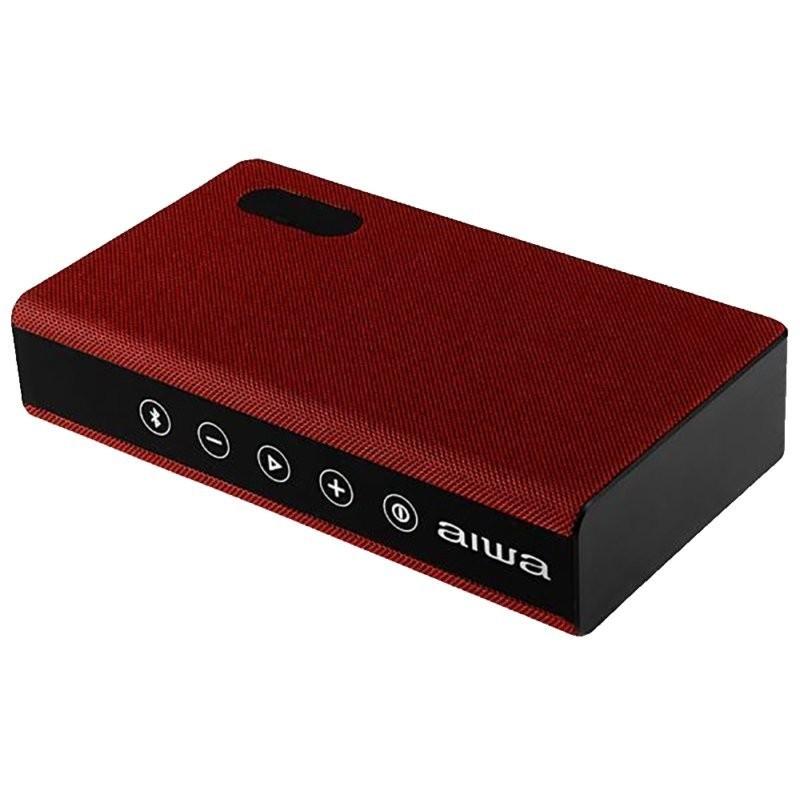 Speaker Aiwa AW-20H Bluetooth HiFi Sound Vermelho