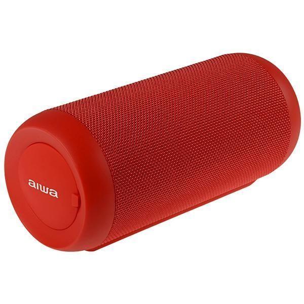 Speaker Aiwa AW-Q680R com Bluetooth/USB/FM Bateria 2.200 mAh - Vermelho