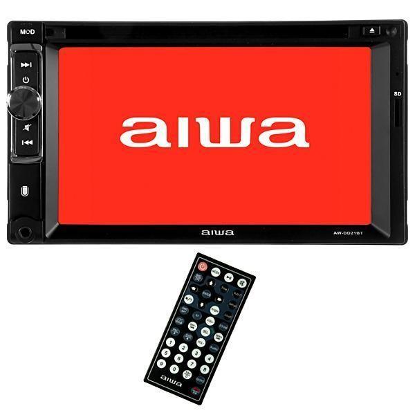 Reprodutor de DVD Automotivo Aiwa AW-DD21BT de 6.2