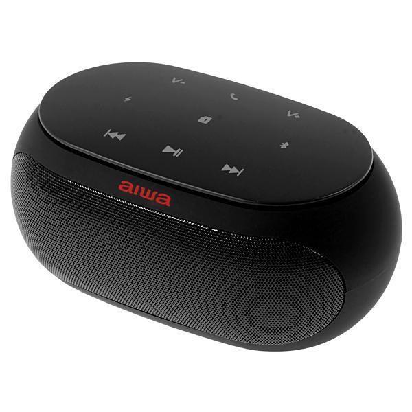 Speaker Aiwa AW31FM com Bluetooth/Auxiliar/FM Bateria de 2.500 mAh - Preto