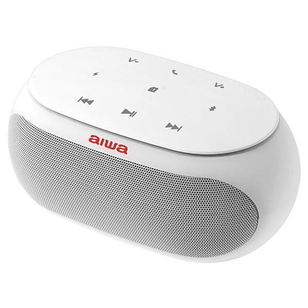 Speaker Aiwa AW31 com Bluetooth/Auxiliar Bateria de 2.500 mAh - Branco