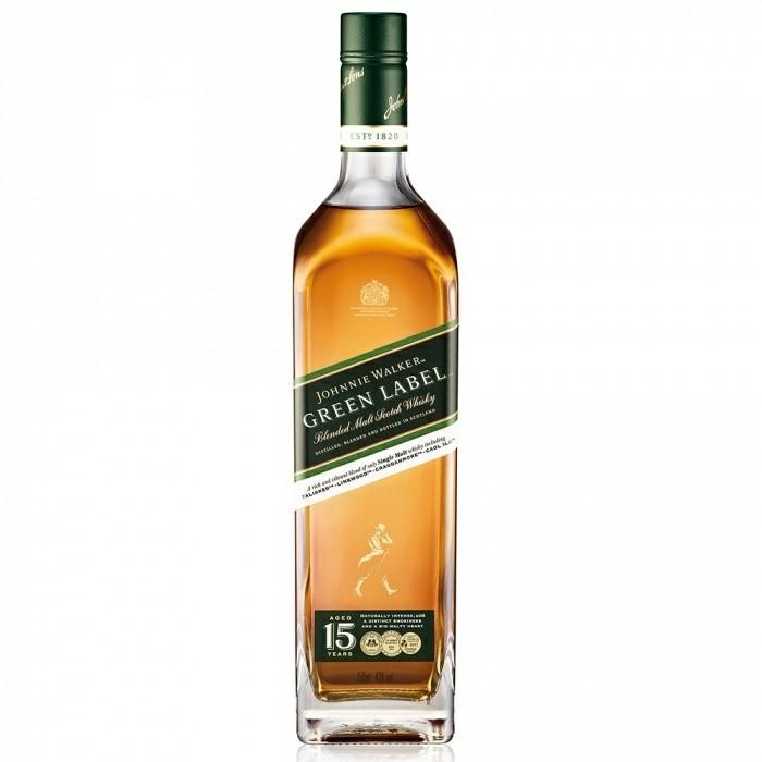 Whisky Green Label Johnnie Walker 750m