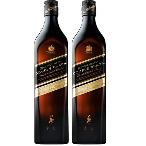 Pack Whisky Double Black Johnnie Walker 2X1L