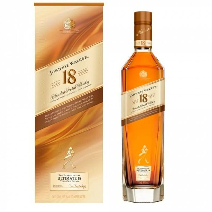 Whisky 18 anos Old Johnnie Walker 750ml