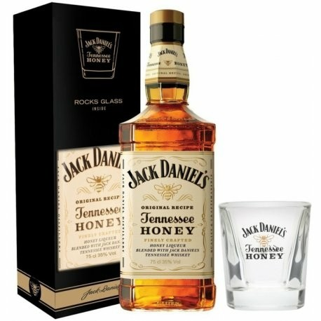 Whisky Jack Daniel's Original Recipe Tennessee Honey 750mL + 1 Copo