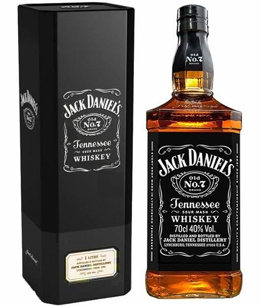 Whisky Jack Daniel's Lata 1L
