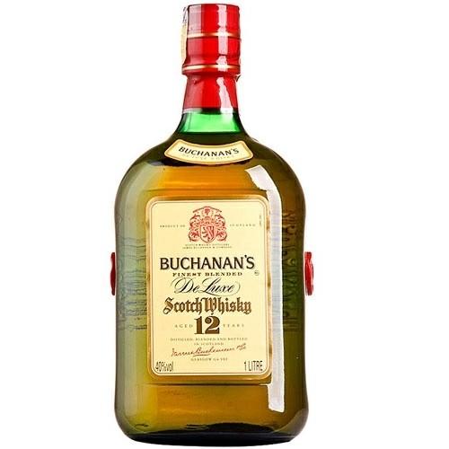 Whisky De Luxe 12 Anos Buchanans 1L