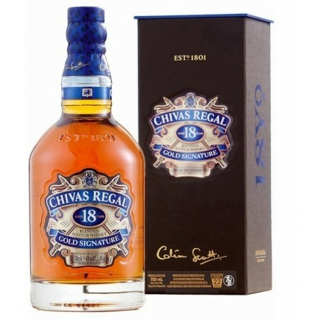 Whisky Chivas Regal 18 Anos 750ml Cx
